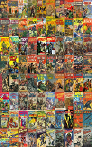 military comics / war comics kindle comic collection 88 issues