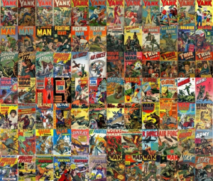 military comics / war comics kindle comic collection 88 issues set b