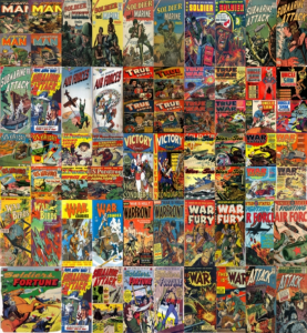 military comics / war comics kindle comic collection set 3