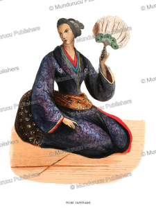 Japanese lady, H. Hendrickx, 1843 | Photos and Images | Travel