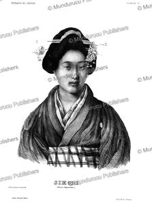 Young Japanese woman, C.H. de Villeneuve, 1825 | Photos and Images | Travel