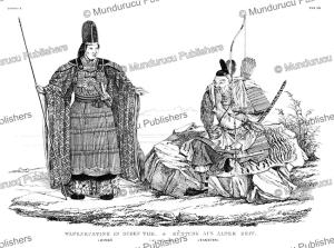 Japanese warriors of 200 AC, J. Erxleben, 1832 | Photos and Images | Travel