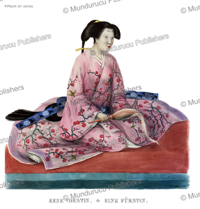 A Japanese queen, J. Erxleben, 1832 | Photos and Images | Travel