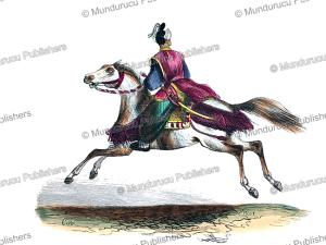 japanese horseman, c.m., 1840