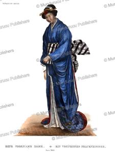 A Japanese Lady, J. Erxleben, 1825 | Photos and Images | Travel