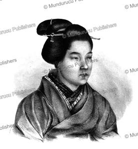 Itose, a Japanese woman, J. Erxleben, 1825 | Photos and Images | Travel