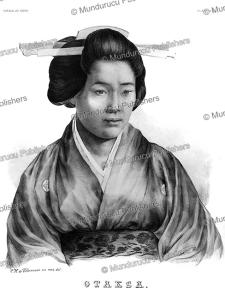 Otaksa, a Japanese woman, C.H. de Villeneuve, 1825 | Photos and Images | Travel