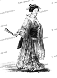 Japanese noble woman, J. Erxleben, 1832 | Photos and Images | Travel