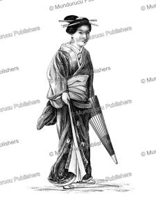 Young Japanese woman, J. Erxleben, 1832 | Photos and Images | Travel