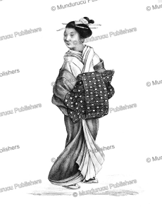 Young Japanese woman, J. Erxleben, 1831 | Photos and Images | Travel
