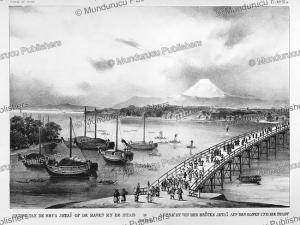 View on Edo, Japan, Voyage au Japan, von Siebold, 1825 | Photos and Images | Travel