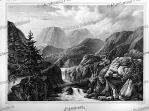 View on Hakone To^ge, Japan, L. Nader, 1825 | Photos and Images | Travel