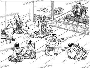 the manner of making tea in japan, voyage au japan, von siebold, 1825