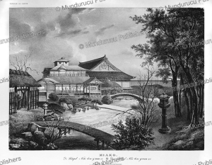 Miako, The Tempel of Nisihongwanzi, Voyage au Japan, von Siebold, 1825 | Photos and Images | Travel