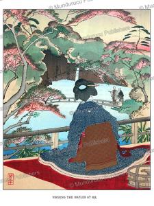 Maples at Oji, Japan, Tsukioka Yoshitoshi, 1891 | Photos and Images | Travel