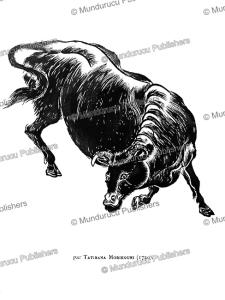 A Bull, Japan, Tatibana Morikouni, 1720 | Photos and Images | Travel