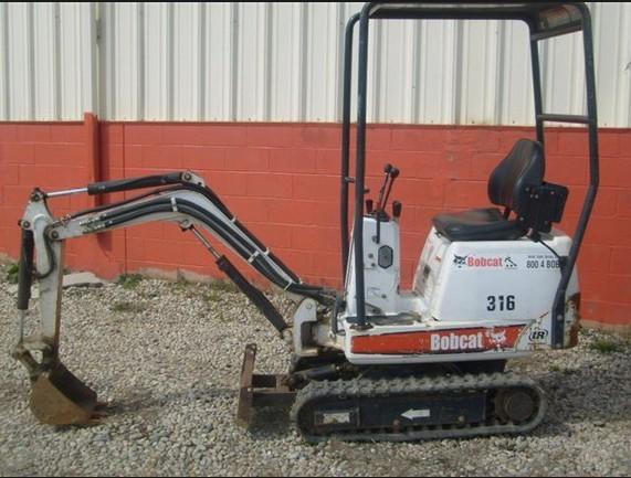 Bobcat 316 Mini Excavator Service Repair Workshop Manual Download Sn 522811001 Above 522911001 Above Ebooks Technical