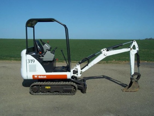 First Additional product image for - Bobcat 319 Compact Excavator Service Repair Workshop Manual DOWNLOAD (SN: 563311001 & Above)