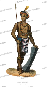 alfur warrior of celebes, m. defiey, 1844