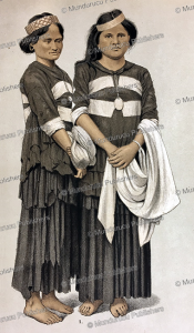 alfur women of the topebatoe tribe of celebes, r. raar, 1886