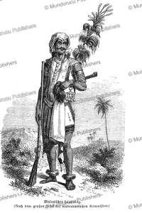 malayan chief, celebes, s. friedmann, 1868
