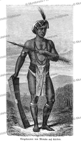 warrior of celebes, charles laplante, 1873