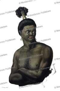 man from ombai (alor), flores, jacques arago, 1820