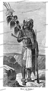 man of timor, j. gauchard, 1873