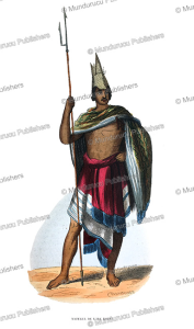 warrior of rote, timor, stephane pannemaker, 1843