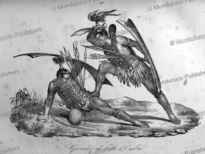 Warriors of Ombai, Timor, Jacques Etienne Victor Arago, 1828 | Photos and Images | Travel