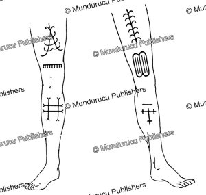 leg tattoo patterns for men on rote island, timor, p.h. van de wetering, 1924
