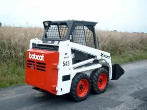 bobcat 540, 543 skid steer loader service repair workshop manual download (540: s/n 501011999 & below , 543: s/n 501111999 & below)