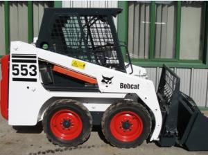 bobcat 553 skid steer loader service repair workshop manual download ( s/n 513011001 & above, europe only s/n 513031001 & above )