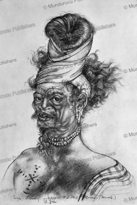 wemale man of ceram, moluccas, a. hahn,  1937