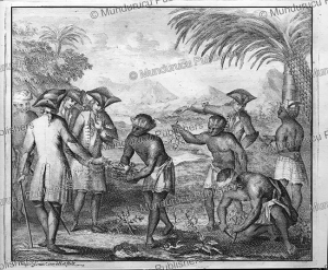 The Dutch welcomed by natives of Ambon, Moluccas, Ottmar Elliger Junior, 1726 | Photos and Images | Travel