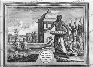 Natives of Ambon making music, Moluccas, J. Goereee, 1726 | Photos and Images | Travel