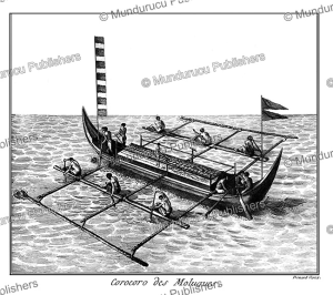 corocoro (canoe) from the moluccas, robert be´nard, 1780