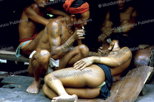 sakuddei tattooing, mentawai, reimar schefold, 1982