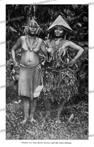 mentawai women of siberut island, c.m. pleyte, 1901
