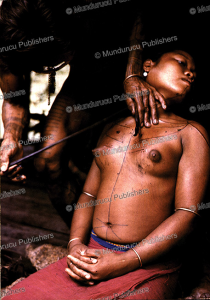 Sakkudei girl being tattooed, Siberut, Marco Bratt, 1980 | Photos and Images | Travel