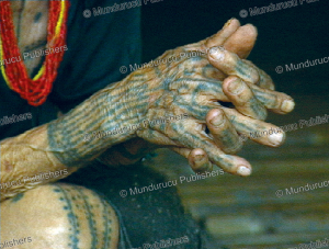 The tattooed hand of a Mentawai woman, 1967 | Photos and Images | Travel