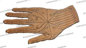 tattooed hand from pora, mentawai, j.d.e. schmeltz, 1888