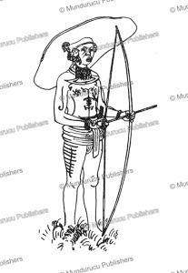 mentawai warrior, augustin kra¨mer, 1925