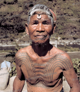 tattooed native of the philippines, david howard