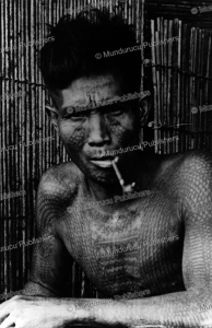 tattooed man of the philippine islands, 1954