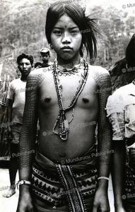kalinga girl, philippines, 1960
