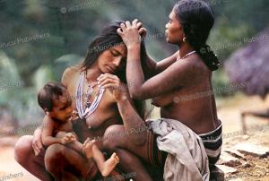 kalinga women grooming, philippines, c. von fu¨rer-haimendorf, 1967