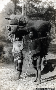 igorote man and wife, philippines, 1911