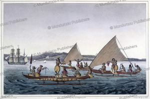 Inhabitants of Pohnpei in their canoes, Aleksandr Postels, 1820 | Photos and Images | Travel