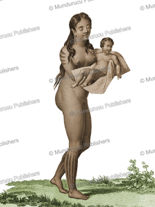 Wife of Tamor of Tinian, Mariana Islands, Jacques Arago, 1828 | Photos and Images | Travel